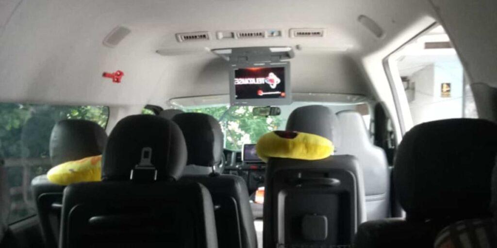 fasilitas sewa bus pariwisata